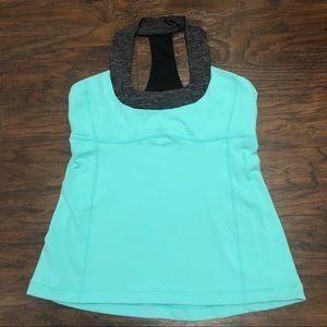 Lululemon Scoop Neck Top Size 10